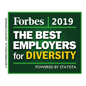Forbes Best Employer for Diversity 2019