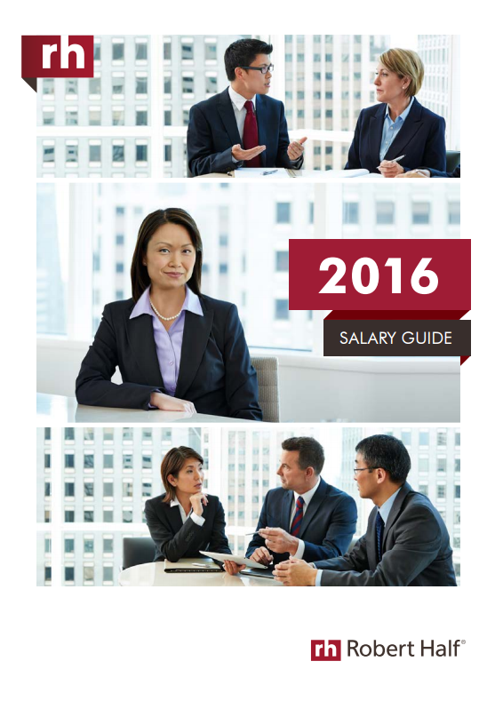 2016 Robert Half Salary Guide