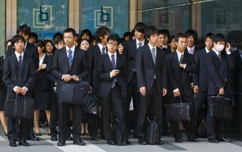 "Is becoming a ""salaryman"" a wise career choice?"
